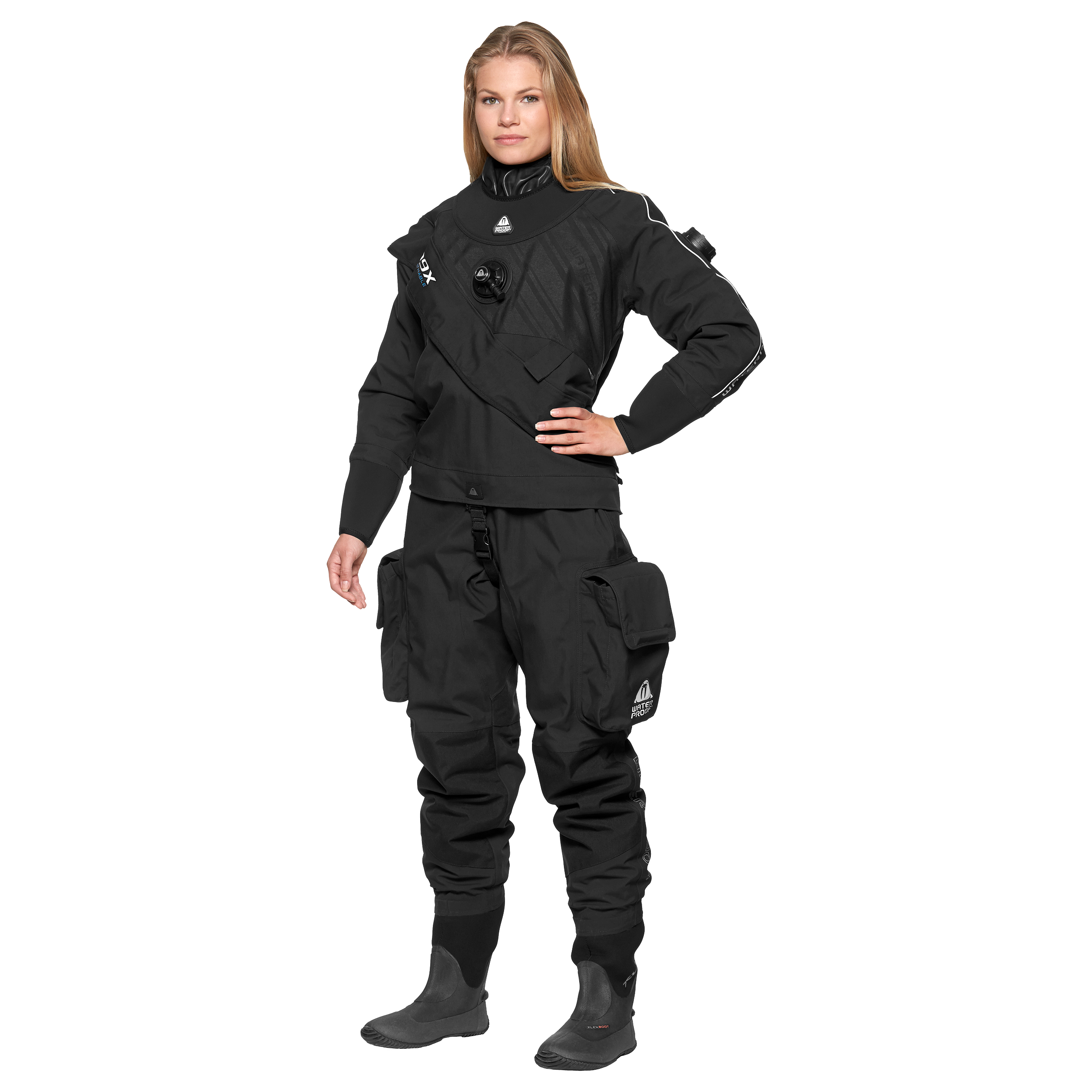 D9X BREATHABLE Drysuit Lady