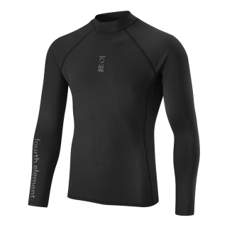 MEN'S LONG SLEEVE TOP - BLACK